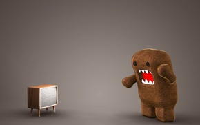 Wallpaper toy, TV, the situation