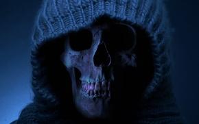 Picture death, teeth, skull