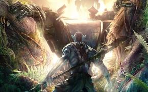 Picture forest, battle, avatar, avatar