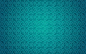 Picture circles, texture, turquoise
