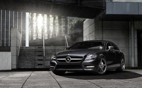 Picture auto, Mercedes, Mercedes Benz CLS, hq Wallpapers