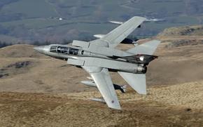 Picture flight, fighter-bomber, Panavia Tornado