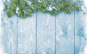 Picture winter, snow, snowflakes, tree, New Year, Christmas, Christmas, winter, snow, decoration, Merry