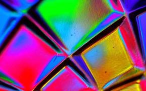 Picture glass, color, the volume