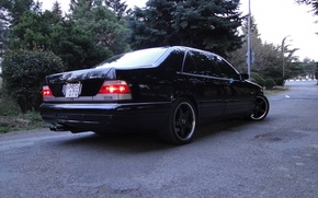 Picture mercedes-benz, amg, w140, s70