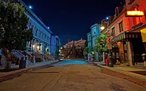 Picture road, night, street, home, Night, San Fransisco, Street