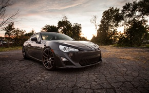 Picture black, toyota, 86, gt