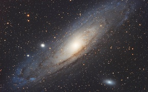 Wallpaper Galaxy, Andromeda, NGC 224, M 31