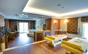 Picture design, bath, the hotel, luxury, Design, lamps, luxury, Interior