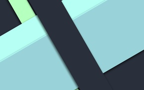Picture line, blue, black, geometry, green, design, material