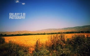 Wallpaper the sky, Field, Tajikistan, The