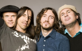 Picture Red Hot Chili Peppers, Anthony Kiedis, Michael Balzary, Flea, John Frusciante, Chad Smith