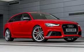 Picture Audi, Performance, The front, Before, RS6