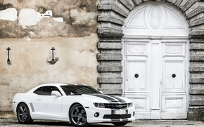 Picture Chevrolet, Camaro, white