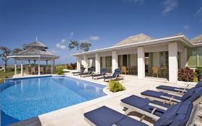 Picture Villa, pool, terrace, Calabash Hotel, Grenada