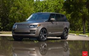 Picture machine, auto, wheels, Land Rover, drives, auto, Vossen Wheels