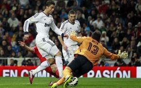 Picture football, Real Madrid, C.Ronaldo, 2012-2013, K. Benzema