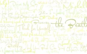 Picture texture, group, album, the Beatles