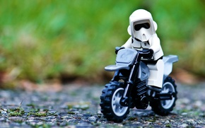 Picture Toy, Star Wars, Motorcycle, Star wars, Lego