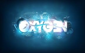 Picture the inscription, oxygen, oxygen