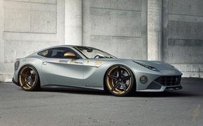 Picture Ferrari, Front, Tuning, Dynamics, Supercar, Berlinetta, F12, Aristo, Silvery