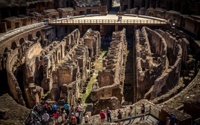 Picture Rome, Colosseum, Italy, the ruins, ruins, tourism, tour