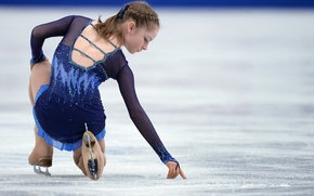 Picture ice, figure skating, Yulia Lipnitskaya, skater