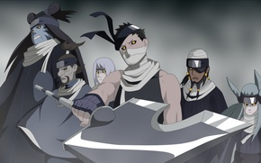 Picture Art, naruto, 7 swordsmen of the mist