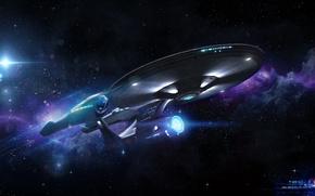 Picture space, Enterprise, 1701, startrek