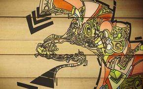 Wallpaper Board, pattern
