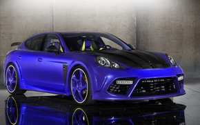 Picture Porsche, Tuning, Blue