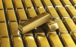 Picture Background, Gold, Ingot, Sample