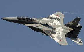 Picture the sky, flight, fighter, Mitsubishi, pilots, BBC Japan, F-15DJ
