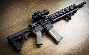 Picture weapons, background, assault rifle, AR-15, BCM, assault rifle