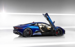 Picture auto, Jaguar, supercar, auto wallpaper, Jaguar C-X75
