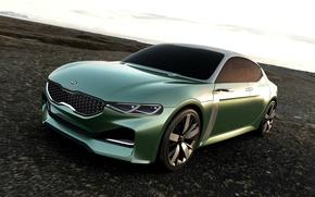 Picture Concept, KIA, Green, Novo