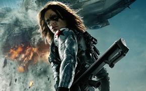 Picture Marvel, Soldier, 2014, Captain America The Winter Soldier, Sebastian Stan