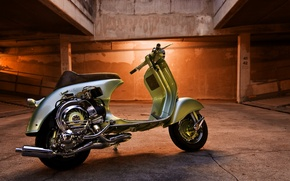 Picture background, motorcycle, vespa