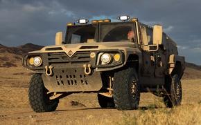 Picture Wallpaper, desert, SUV, military