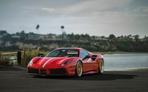Picture Ferrari, Carbon, Tune, Fiber, 488, Ceramic, Floor Dealership