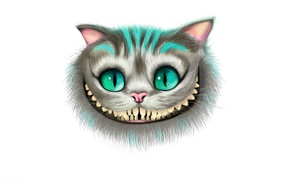 Picture face, smile, Alice in Wonderland, Cheshire Cat, Cheshire Cat, Alice's Adventures in Wonderland
