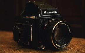 Picture black, camera, photocamera, lens, optic, Japanese, Mamiya Digital Imaging, Mamiya
