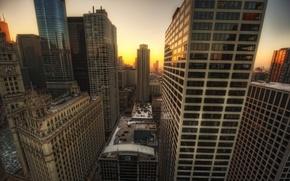 Picture the city, Chicago, USA, USA, Chicago, illinois, Illinois, TribuneTower
