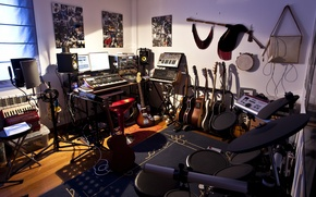 Picture room, studio, home