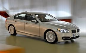 Picture car, machine, BMW, in motion, speed, Sedan, 535i, Luxury Line
