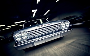 Picture machine, Chevrolet, classic, Bel Air, muscle car, 1962