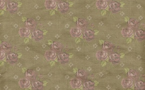 Wallpaper pattern, vintage, floral, background, roses, texture, paper, ornament, wallpaper, floral