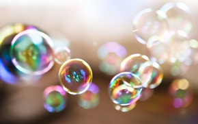 Picture summer, bubbles, childhood, background, Wallpaper, mood, bubbles, day, wallpaper, widescreen, background, nostalgia, full screen, HD …