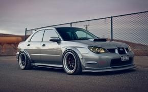 Picture Subaru, Impreza, Machine, Car, Car, STI, Subaru, Impreza, Wallpapers, Beautiful, Wallpaper, Stance, STI