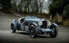 Picture car, Bentley, old